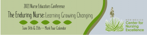 2021 Nurse Educators Conference from NMCNE - The Enduring Nurse: Learning Growing Changing